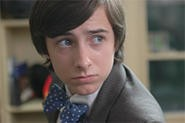 Polka-dot bow ties are only one of Hal's (Reece Thompson)  many quirks.