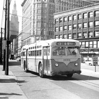 20 Photos of Old Cleveland Streetcars Prospect Avenue and Huron Road, circa 1930-59 Cleveland Memory Project