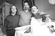 Proud partners (left to right): Antonio Calandra, Fabio - Salerno, and Ricardo Salerno. - WALTER  NOVAK
