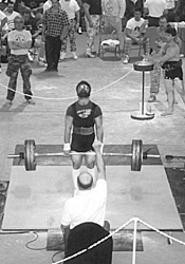 Pumpin' you up at the Ohio Powerlifting and Bench - Press Championships.