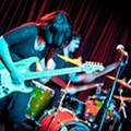 Punk band Screaming Females played a ferocious show last night at the Grog Shop