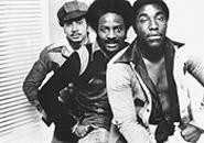 Put your hands together: O'Jays Walter Williams, William Powell, and Eddie Levert (from left), circa 1973.