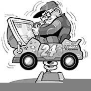 Racing in their seats: Arcade drivers taste NASCAR - glory. - WALTER  NOVAK
