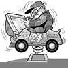 Racing in their seats: Arcade drivers taste NASCAR      glory.