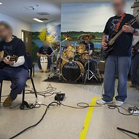 "Pictures From Inside Trumbull Correctional Institution's Music Program Read ""Live From Trumbull Correctional: The Prison Bands Plugging In And Playing Behind Bars,"" by Eric Sandy. Doug Brown/Cleveland Scene"