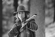 Rene Zellweger  takes aim in the Oscar-baiting - Cold Mountain (Thursday).