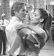 Richard Gere and J. Lo embrace in Shall We - Dance?