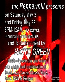 LLOYD BRAUN PHOTOVIDEO - Richie Green at the Peppermill Friday May 29