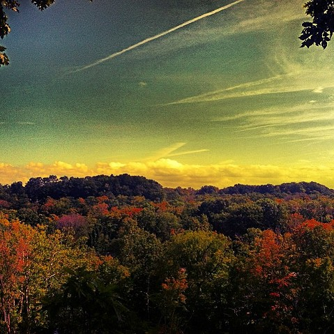 #rockyriver#overlook#hiking#abovethetrees#clevelandmetroparks#fallcolors#intheclouds#cleveland#ohio#midwest#clevelandgram#ohiogram - PHOTO COURTESY OF INSTAGRAM USER JENAYFURR
