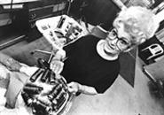 Roller girl: Intrepid columnist, hairdresser, and bingo wrangler Emilee Jenko. - WALTER  NOVAK