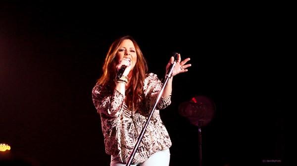 Sara Evans Performing at Hard Rock Live