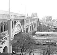 Saturday's Veterans Memorial Bridge & Subway Tour - gives folks the opportunity to check out the river from a - different view.