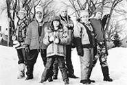 School's out for winter: The Snow Day gang.