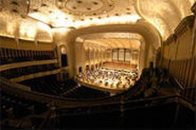 WALTER  NOVAK - Severance Hall in all its gold-leaf grandeur.