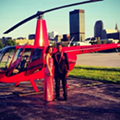 Shaker Heights QB Wanted to Land a Helicopter on Wade Oval for His Prom Entrance