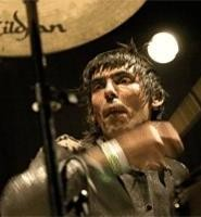 Shellac drummer Todd Trainer, at the Beachland September 6. - WALTER  NOVAK