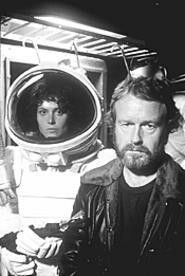 Sigourney Weaver and director Ridley Scott: Still - brilliant after all these years.