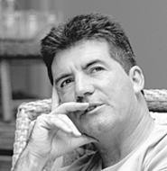 Simon Cowell, counting the ways to dash contestants' - hopes.