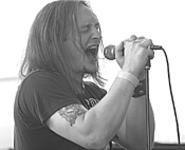Singing for Satan: Abdullah frontman Jeff Shirilla, at - the Scene Music Awards, July 22. - WALTER  NOVAK