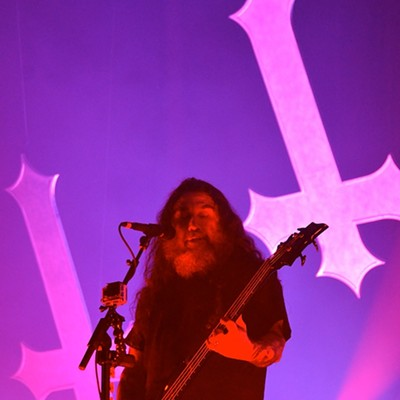 Slayer, Suicidal Tendencies and Exodus Performing at the Agora