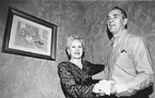 WALTER  NOVAK - Some like it hop: Sylvia and Paul Namitka of the Cleveland Polka Association.