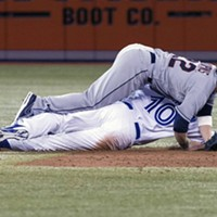11 Indians' Double Plays That Don't Look Like Double Plays Standard tornado safety protocol.
