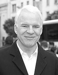 Steve Martin: The wild and crazy guy had a hand in the - Play House production The Underpants - (Thursday). - GETTY  IMAGES