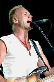 Sting and the Police slay the Q on July 16. - WALTER NOVAK