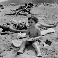 31 Vintage Photos of Kids Growing Up in Cleveland Straight chilling at Mentor Headlands, 1968.