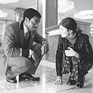 Strangers in a strange land: Chiwetel Ejiofor and - Audrey Tautou in Dirty Pretty Things.