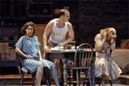 Streetcar at the Play House: Mares, Field, and Resnick take on Stella, Stanley, and Blanche.