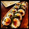 Sushi Rock still has the best sushi happy hour with their Tsunami Night. Every Thursday, almost every sushi roll is half price.