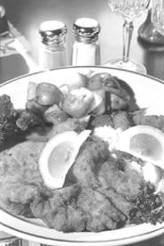 Sutter's schnitzel, in one of its multiple forms. - WALTER  NOVAK