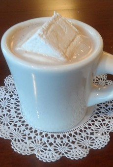 Sweet Moses is the ultimate hot chocolate destination. In fact, they use a recipe from 1911, and top it all off with a marshmallow square! Enjoy a cup today at 6800 Detroit Ave., Gordon Square, 216.651.2202.