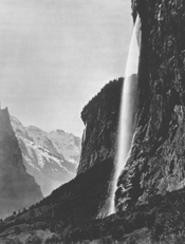 """Switzerland. Valley of Lauterbrunnen,"" by Adolphe Braun, photograph."