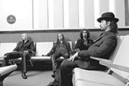 System of a Down guitarist Daron Malakian (second from left) claims that Keith Moon is his biggest guitar hero -- even though the Who drummer didn't play guitar.