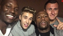 T-Minus 25 Days 'til Training Camp: Johnny Manziel Parties with Justin Bieber