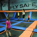 Take a Tour of Sky Zone, Westlake's Insanely Cool Indoor Trampoline Park
