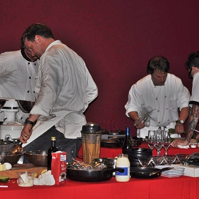 Tasteful Affair featuring the Iron Fork