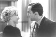 Tea Leoni and Nicolas Cage sharing a moment.
