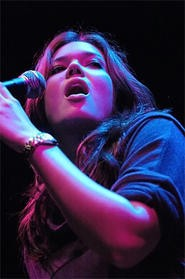 Teen-idol Mandy Moore woos the House of Blues on Sunday, September 23. - WALTER NOVAK