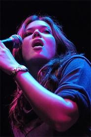 Teen-idol Mandy Moore woos the House of Blues on Sunday, September 23. - WALTER NOVAK