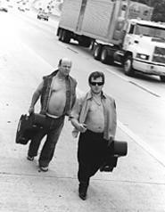 Tenacious D: The portly twosome takes its show on the road.