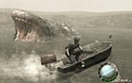 Thar she blows! The game of the year: Resident Evil 4.