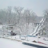 20 Photos of Snowy Ohio Amusement Parks The Beach Waterpark, March 2013 Photo via Cedar Point, Facebook