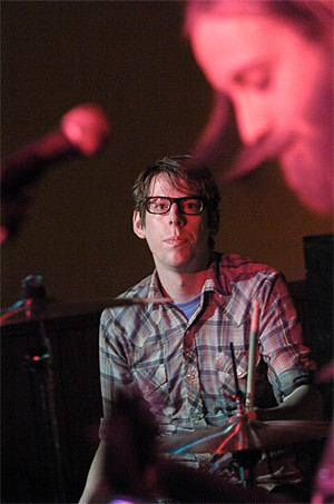"The Black Keys at their ""secret"" Beachland Tavern gig. - WALTER NOVAK"