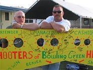 The Boob-O-Meter and the Beaver-Meter are staples of the tractor pull.