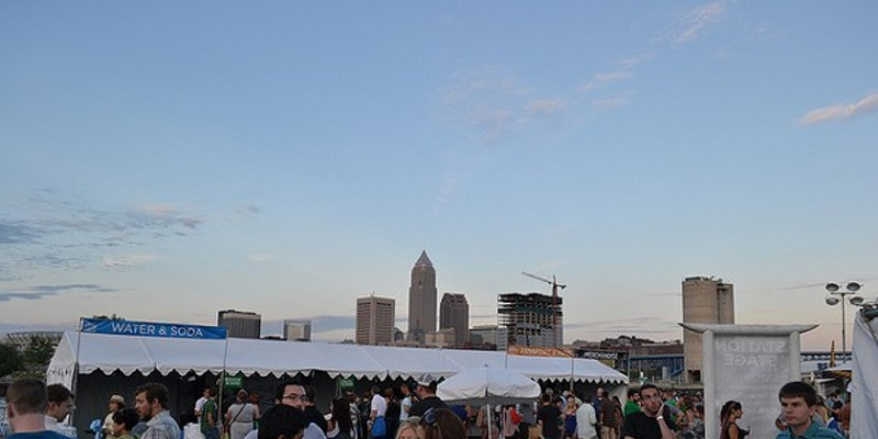 10 Things Going on in Cleveland this Weekend (July 25 - 27) The Burning River Fest pokes fun at one of Cleveland's not-so-proud moments while conveying the importance of preserving Northeast Ohio's freshwater sources. Created by the aptly named Burning River Foundation, the fest takes place on Whiskey Island. Chow down on local eats while listening to live music and educating yourself on how to respect Mother Nature, courtesy of visiting environmental groups. The festivities start at 6 p.m. and tickets are $12 a day; if you bike to the fest, however, your ticket becomes $8. The fun continues through Saturday. (Cortni Dietz) Photo via Flickr Creative Commons