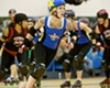 The Burning River Roller Girls home teams open their season on March 8 with an exciting double header, featuring the Cleveland Steamers, the Hard Knockers, the Hellbombers and the Rolling Pin-Ups ! Join us at the Ohio Nets Sports Complex in Parma to kick off a new season of roller derby action, with slamming and jamming sure to thrill fans. Doors open at 6:00 pm, and our first bout starts at 7:00 p.m. Get your tickets early via Brown Paper Tickets! BRRG recommends advance purchase of tickets to guarantee entrance. (Photo courtesy Dave Brown Images)