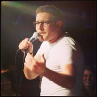 Saturday, January 18: James Adomian The energetic and hilarious James Adomian hits the intimate Grog Shop stage tonight. Famous for his many impressions and controversial views on current events, he's also very open about his sexuality and makes it known in many of his shows. Adomian originates from Los Angeles and often makes light of the differences between SoCal and his current home, New York. The show starts tonight at 7:30. Tickets are $15. (Hammond) Photo via Instagram